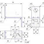 """Кронштейн типу """"Z"""" для кріплення повітропроводу з втулкою"""