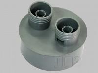Корпус клапана Ф110 мм